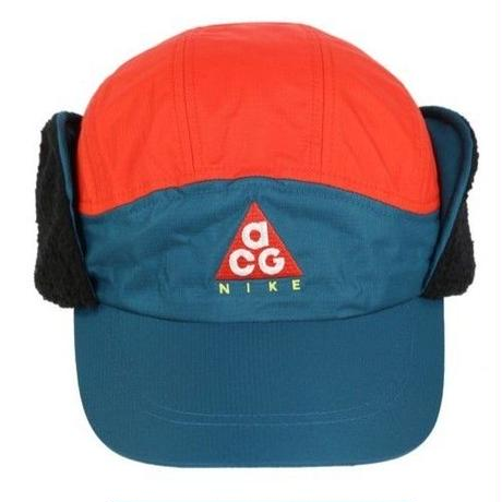 "新品 NIKE ""NSW TAILWIND CAP ACG SHERPA"" TEAL×RED"