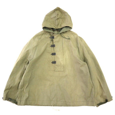 "40's US NAVY Deck Rain Parka ""Hook Type"" JACKET Mサイズ"
