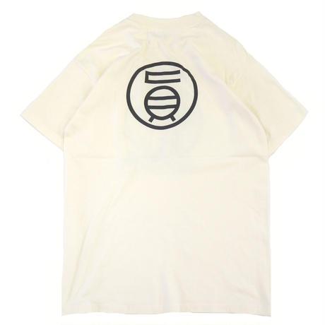 """80's Hanes """"GEISHA"""" 両面 プリント Tシャツ Cream Lサイズ USA製"""