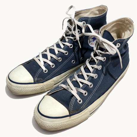 90's CONVERSE ALL STAR Hi NAVY US10 USA製
