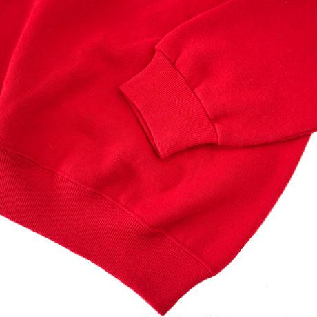 "80's~ OLD Hanes ラグラン スウェット ""SOLID"" Red Lサイズ USA製"