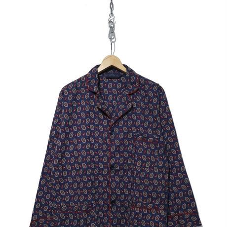 90's~00's MARK ALEXANDER ペイズリー柄 パジャマシャツ