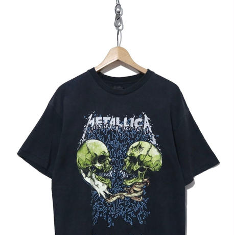 "90's METALLICA 両面プリントTシャツ ""pushead"" BLACK"