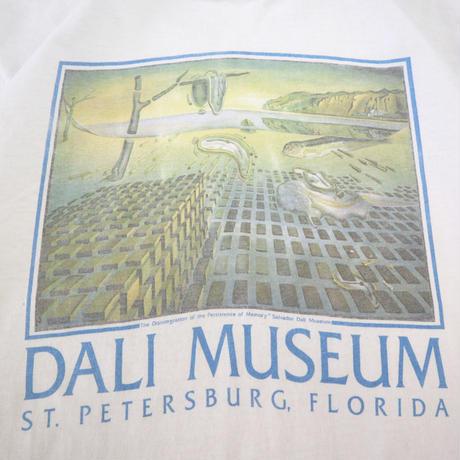 """80's~90's Stedman """"DALI MUSEUM"""" プリント Tシャツ Lサイズ USA製"""
