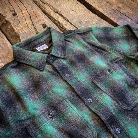 CWORKS 【Jaime /wool shirt】  (FINE CREEK )