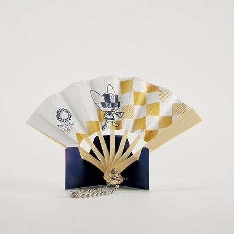 東京2020オリンピックマスコット ミニ扇子 M-② ミライトワ