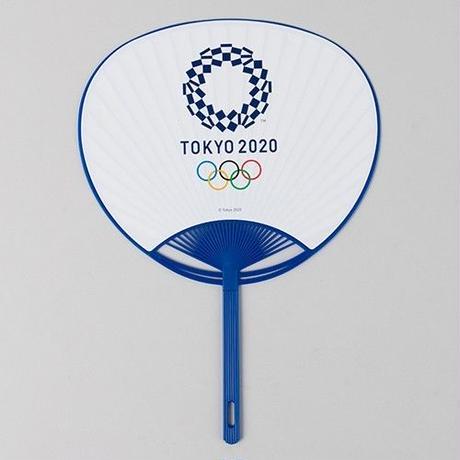 東京2020オリンピックマスコット カラーポリうちわ