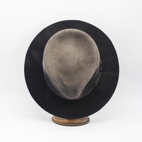 Hand dyed rabbit hat
