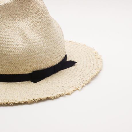 Raffia fringe hat(MTN)