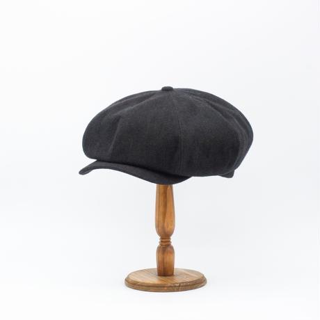 Silk tweed NPB cap(Hand dyed Black)