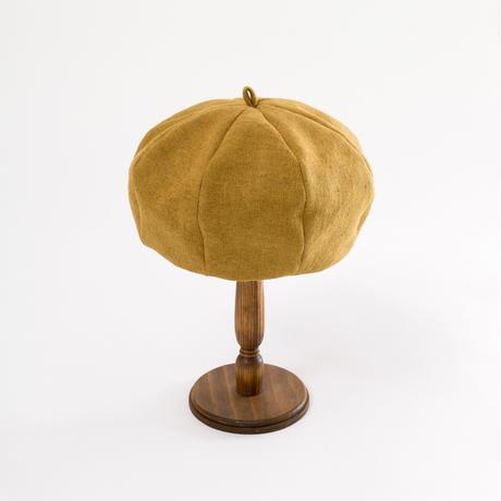 Linen point beret