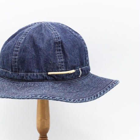 Selvage fatigue hat