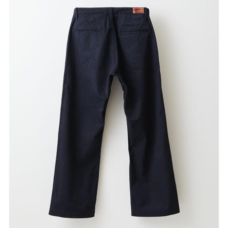 Selvage wide trousers