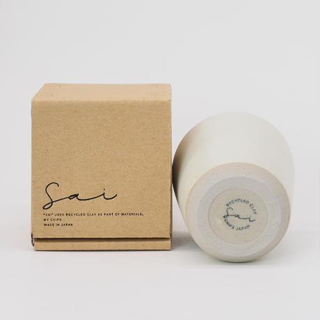 【SA002wh】SAI Tumbler -white-