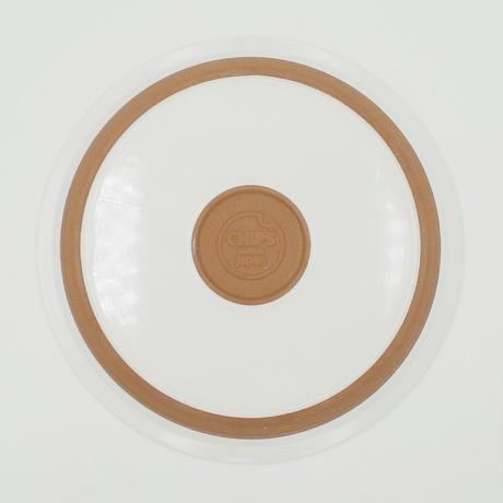 【CP008】CHIPS plate. SOLID COLOR white