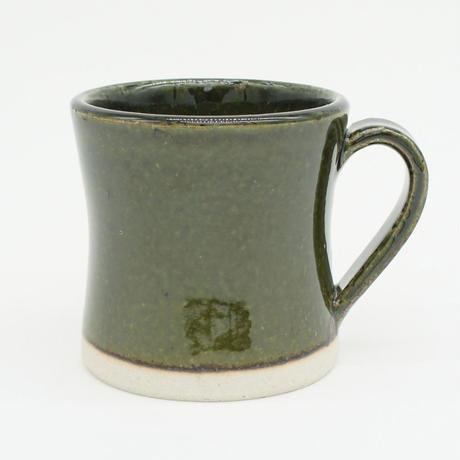 【H001ob】Heuge MUG CUP oribe(マグカップ 織部)