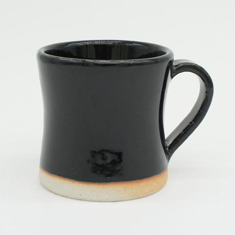 【H001sg】Heuge MUG CUP setoguro(マグカップ 瀬戸黒)