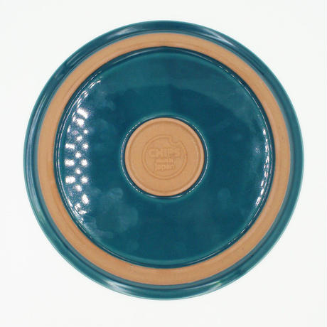 【CP010】CHIPS plate. SOLID COLOR d.green