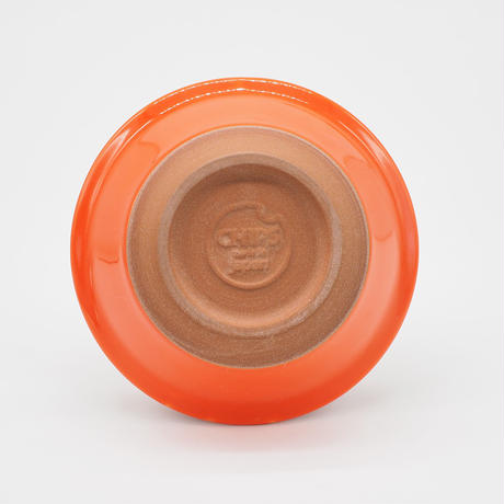 【CB011】CHIPS bowl. SOLOD COLOR orange