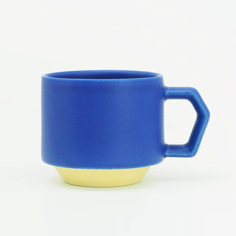 【CT-004】CHIPS stack mug. TOY COLOR -blue × yellow-
