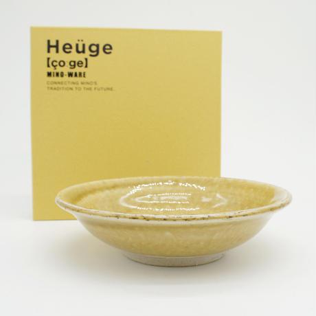 【H004kz】Heüge BOWL kizeto(五寸向付 黄瀬戸)