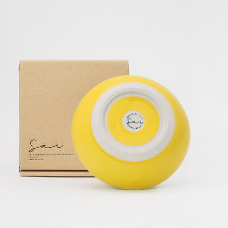 【SA004yl】SAI Bowl M -yellow-