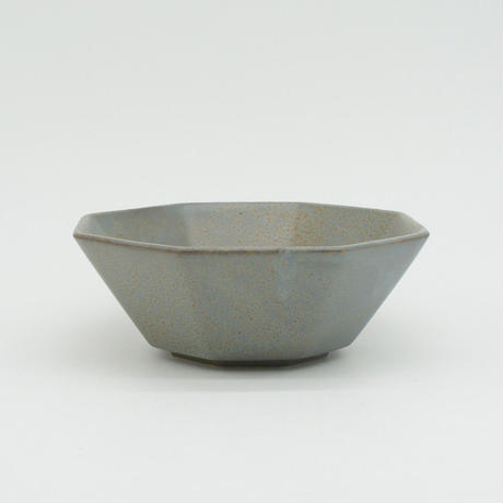 【AP008gy】Ancient Pottery BOWL S gray