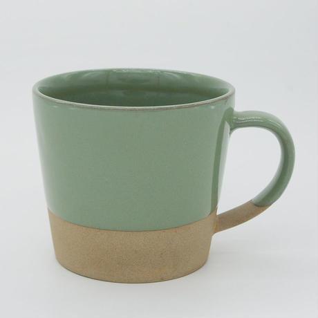 【M026gr】パンとごはんと...  MUG CUP green