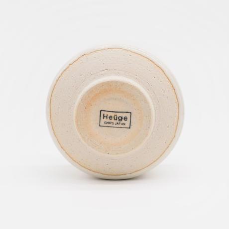 【H007sn】Heüge MATCHA shino(抹茶碗 志野)