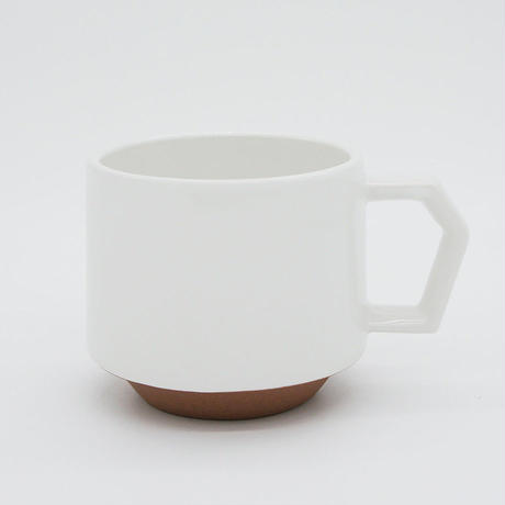【CS008】CHIPS stack mug. SOLID COLOR white