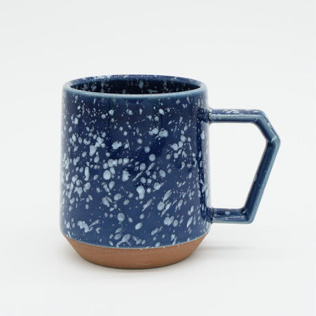【C002nw】CHIPS mug. SPLASH navy-white