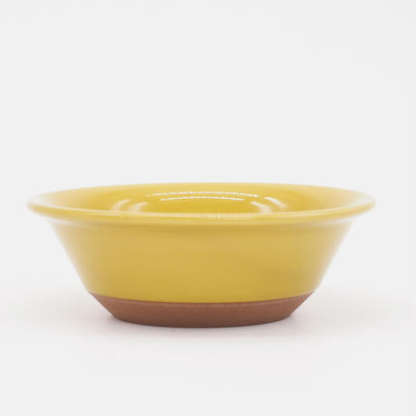 【CB009】CHIPS bowl. SOLOD COLOR mustard