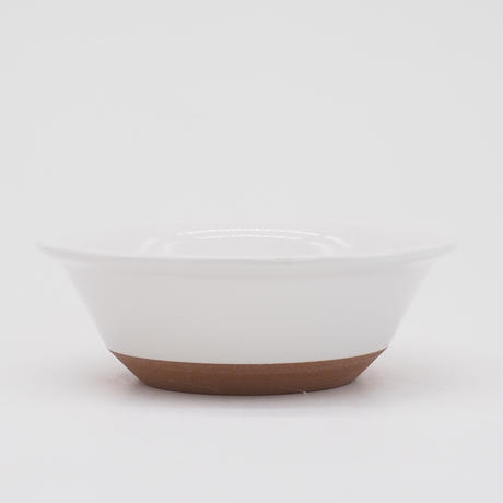 【CB008】CHIPS bowl. SOLOD COLOR white