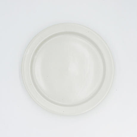 【AP003wh】Ancient Pottery PLATE L white