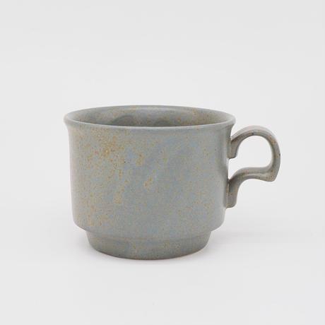【AP010gy】Ancient Pottery MUG CUP S gray