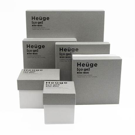 【H006sg】Heüge PLATE L setoguro(八寸平皿 瀬戸黒)