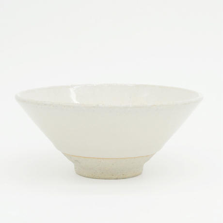 【H003sn】Heuge RICE BOWL SHINO(茶碗 志野)