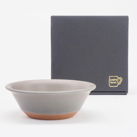 【CB001gy】CHIPS bowl. MAT gray