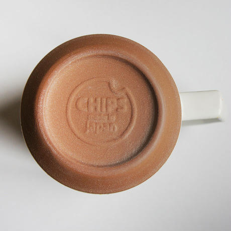 【C009】CHIPS mug. SOLID COLOR mustard