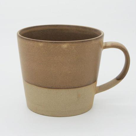 【M026br】パンとごはんと...  MUG CUP brown