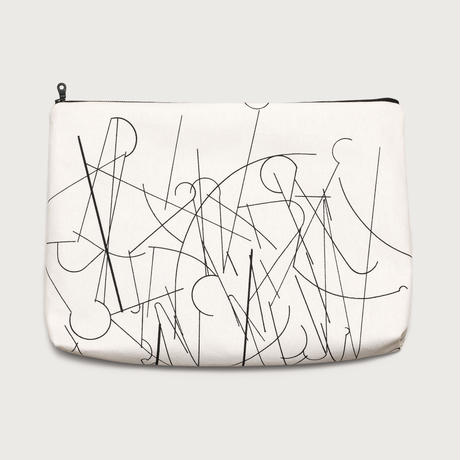 clutch bag  /  white D