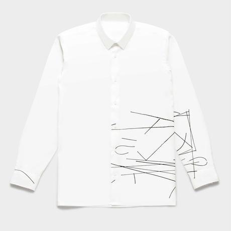 Shirts by Standピンオックスフォード シャツ(White) 00028
