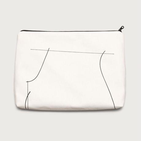 clutch bag  /  white C