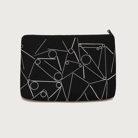 Clutch bag small  /  black B