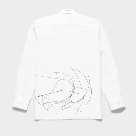 Shirts by Standピンオックスフォード シャツ(White) 00023