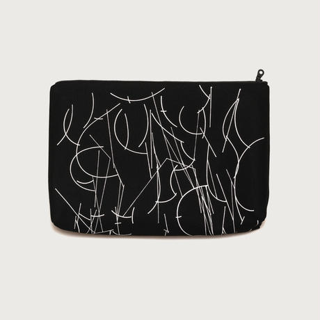 Clutch bag small  /  black C