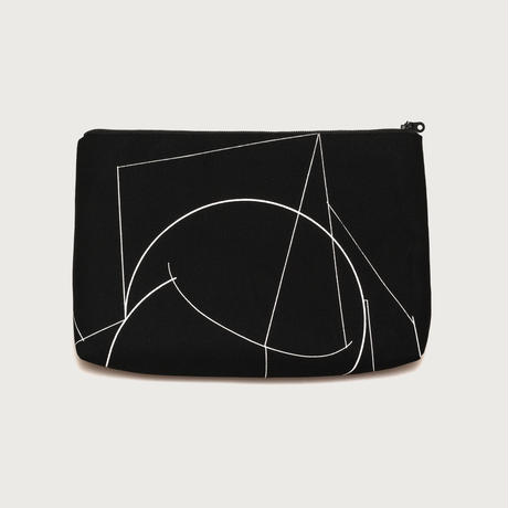 Clutch bag small  /  black A