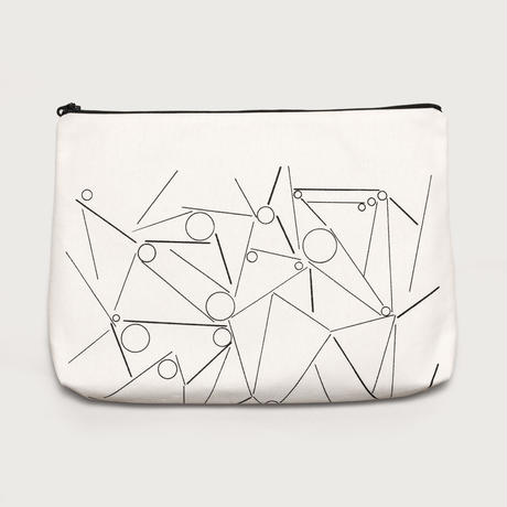 clutch bag  /  white A