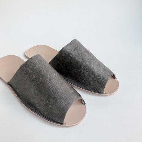 別注 Leather Slippers  ( tomorka × toau )