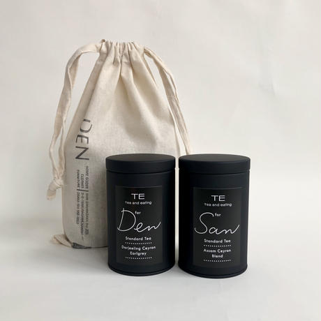 TE / Standard tea set    - GIFT  bag  -